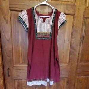 💥 Lovely unbranded cotton tunic. Sz M